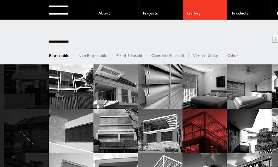 Корпоративный сайти с стиле минимализм