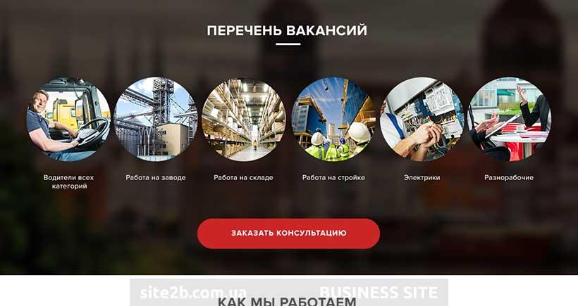 Сайт с вакансиями в Польше