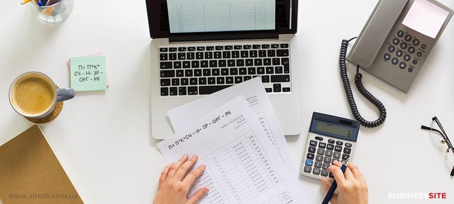 формула как рассчитать прибыль интернет магазина