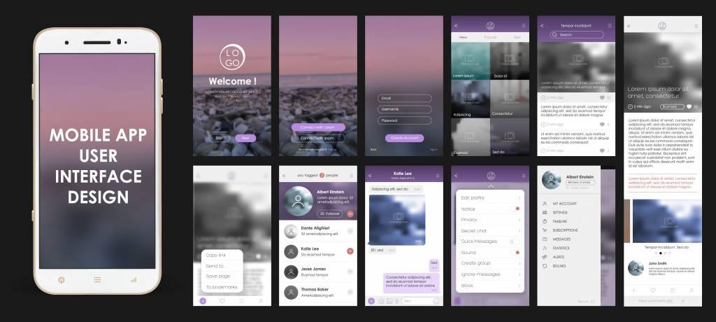веб-дизайн 2019 мобильная версия сайта